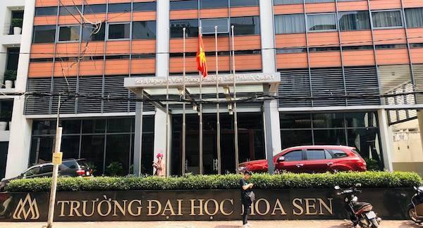 Trong vòng 5 năm, trường đại học Hoa Sen đã thay 5 hiệu trưởng