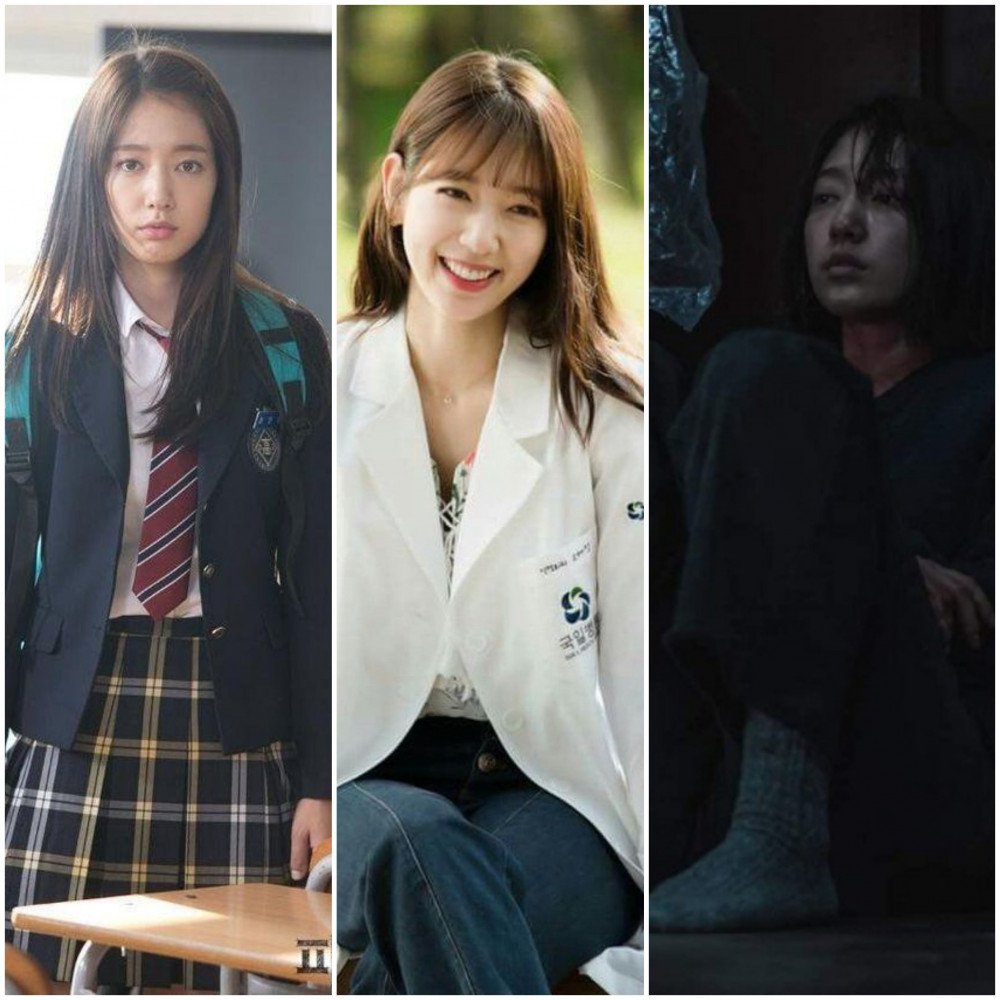 Park Shin Hye trưởng thành qua từng vai diễn.