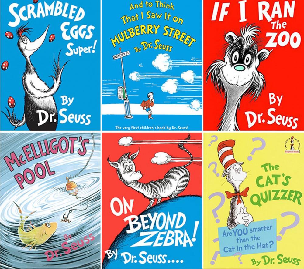 6 cuốn sách bị thu hồi của tiến sĩ Seuss.