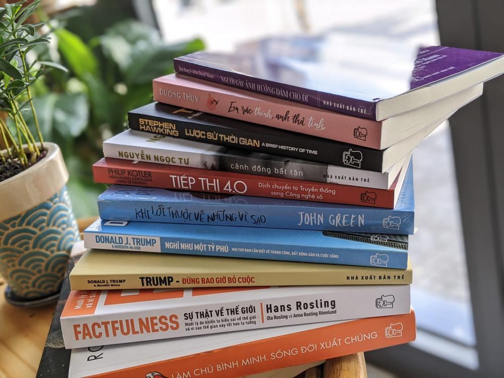 Hội sách không được tổ chức, sách mới đổ bộ lên thị trường online