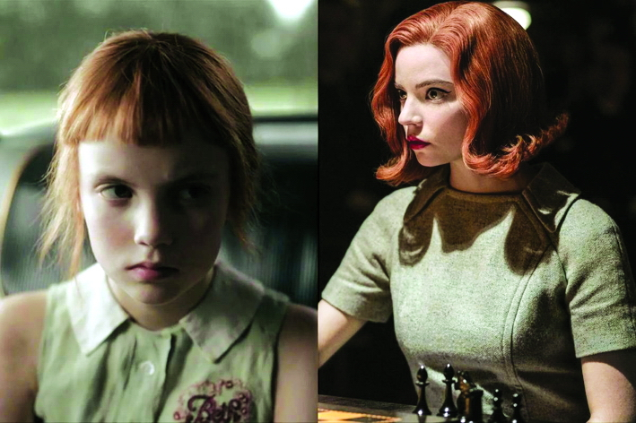 Xuyên suốt phim, sắc xanh nhạt được chọn  làm màu nền trung tâm phản ánh cá tính  nhân vật Harmon - Ảnh: Vogue India