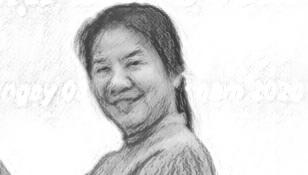 Hình Bà Lê Thị Thanh Tuyền (đứng), nguyên Chánh thanh tra Sở Tài chính TPHCM trong một sự kiện.