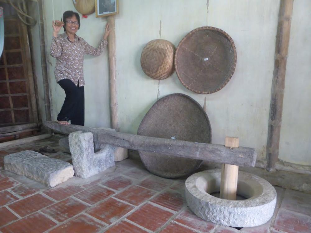 Ngày xưa nhà nào cũng có cái cối giã gạo - Ảnh Internet