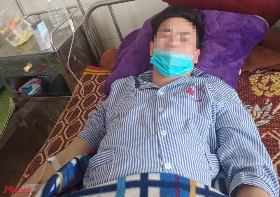 Sức khỏe anh Long dần ổn định sau hơn một tuần được điều trị tại Bệnh viện Đa khoa Hà Tĩnh