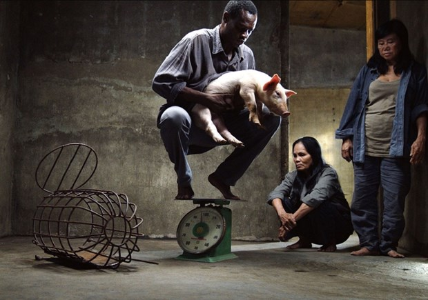 Hình ảnh trong phim Vị của đạo diễn trẻ Lê Bảo.