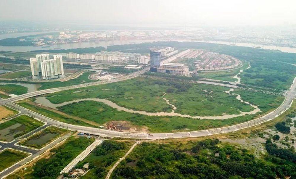 Khu 4,3 ha tại Khu đô thị Thủ Thiêm đang thực hiện triển khai bồi thường, hỗ trợ tái định cư cho người dân