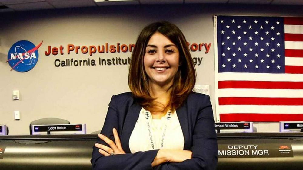 Được đặt chân vào NASA chính là bước ngoặt lớn nhất trong sự nghiệp của cô Diana Trujillo