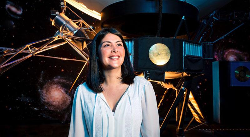 Cô Diana Trujillo có ước mơ được chinh phục sao Hỏa ngay từ khi đang là một cô bé nhỏ tuổi