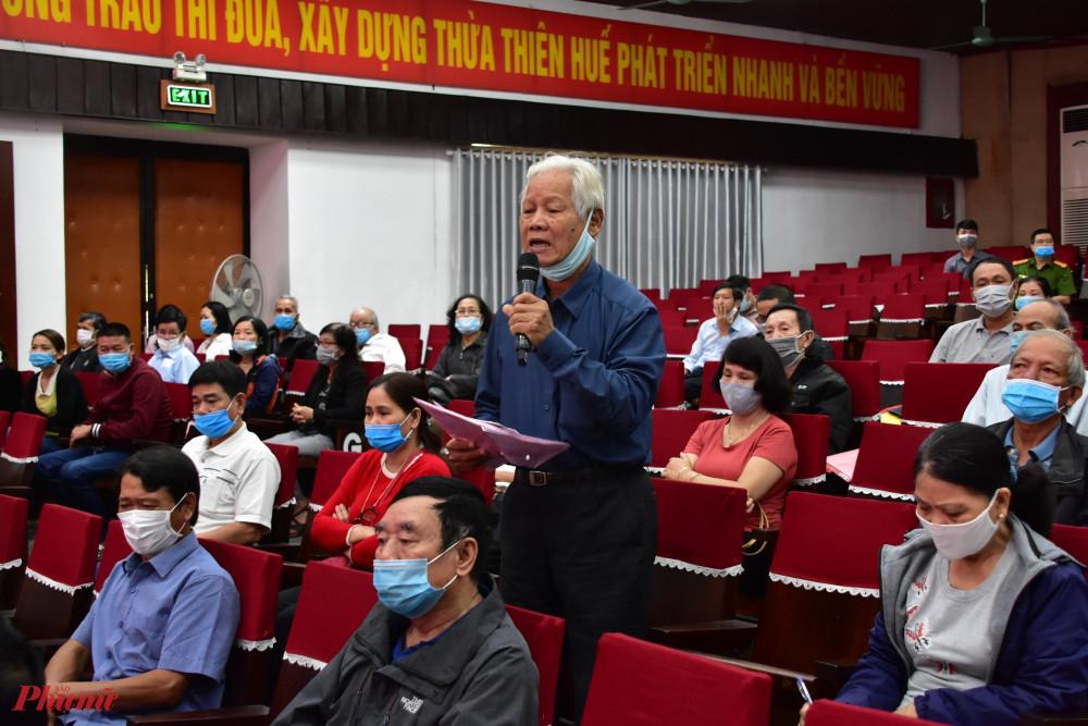 Nhiều kiến nghị của bà con đã được lãnh đạo tỉnh Thừa Thiên - Huế giải quyết một cách thấu đáo