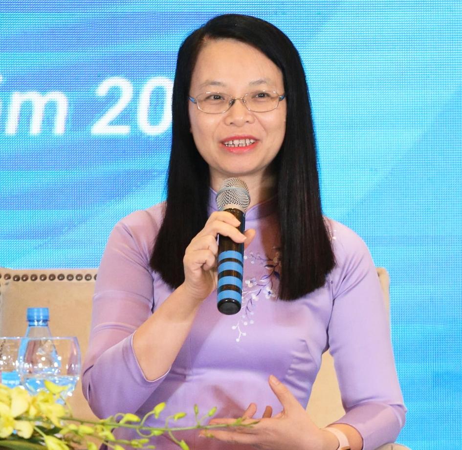 """Nữ chủ tịch FPT Software: """"Made in Vietnam"""" hãy bắt đầu thay đổi từ mỗi người"""