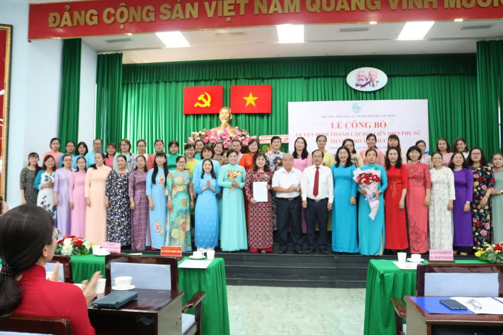 Ra mắt Ban Chấp hành Hội LHPN TP.Thủ Đức nhiệm kỳ 2016 -2021.