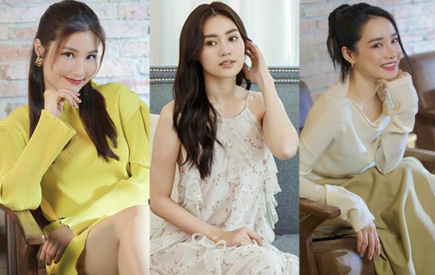 Diễn viên Diễm My, Lan Ngọc, Nhã Phương (từ trái sang) đều có lựa chọn riêng trong tình yêu, công việc.