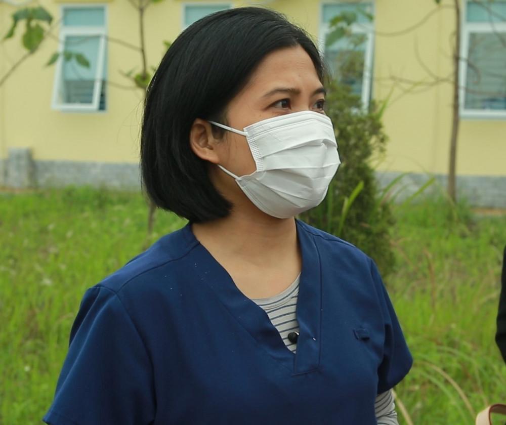 Nữ điều dưỡng Nguyễn Thị Hường chia sẻ sau khi tiêm