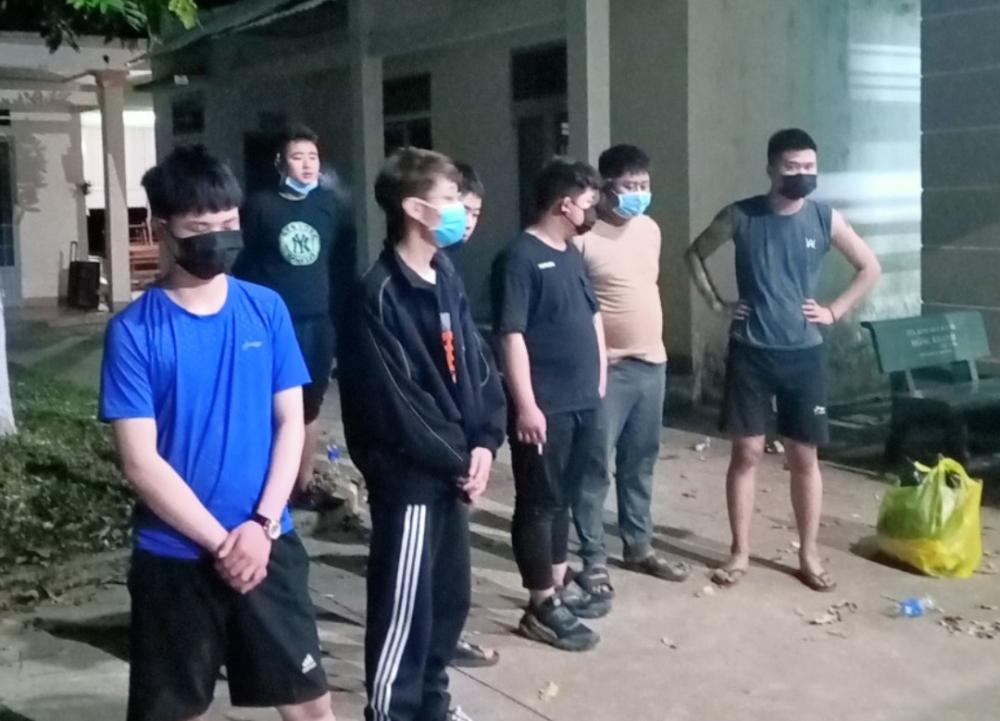 9 đối tượng Trung Quốc bị bắt giữ khi vượt biên trái phép