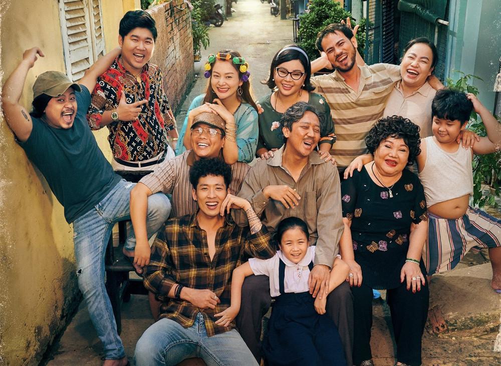 Với Bố già, Trấn Thành thu hút được sự quan tâm, lấy được tình cảm của khán giả dành cho phim Việt.