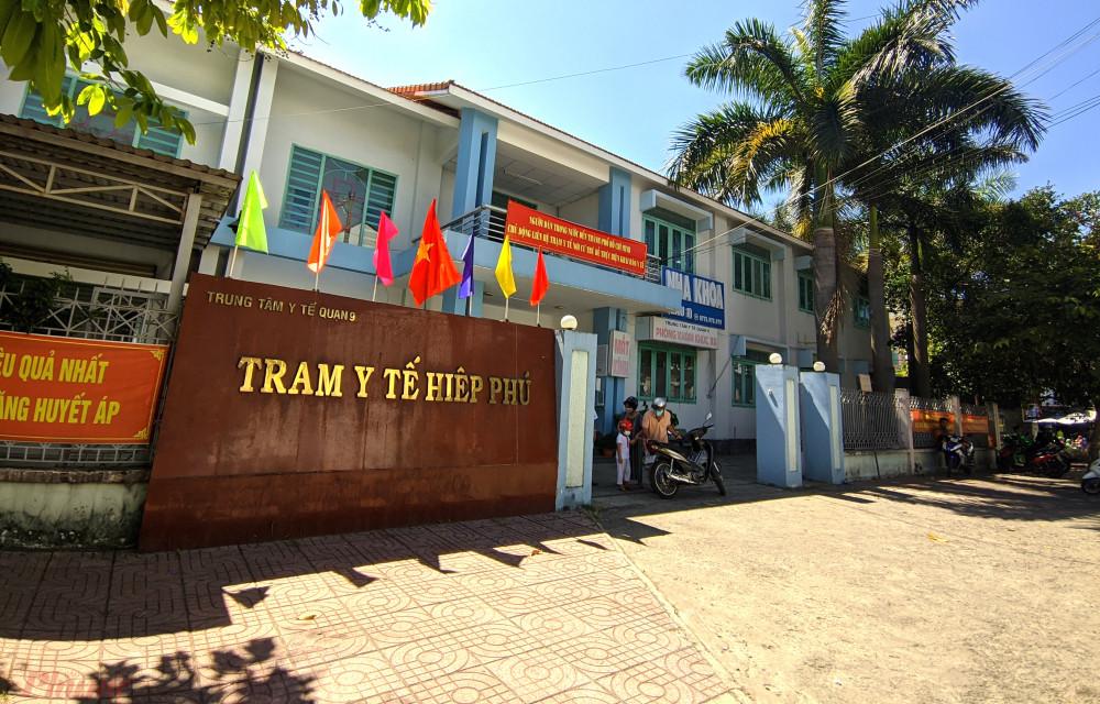 Trạm Y tế P.Hiệp Phú, TP.Thủ Đứ c trong một năm chỉ có vài lượt bệnh nhân đến khám theo diện bảo hiểm y tế