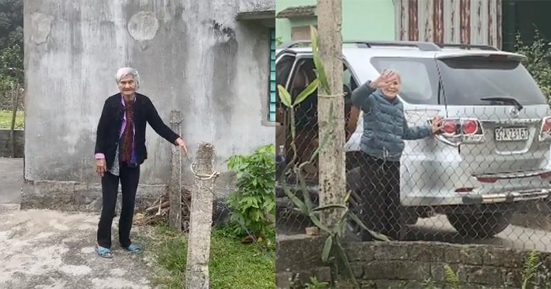 Hình ảnh mẹ già 103 tuổi tiễn con gái khiến nhiều người xúc động