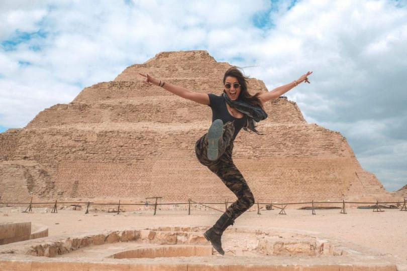 Alford cảm phục khả năng bảo tồn và khai thác các giá trị văn hóa lịch sử của Ai Cập