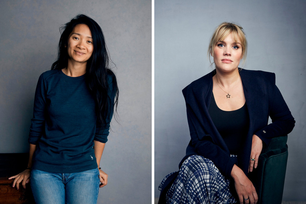 Chloé Zhao (phim Nomadland) và Emerald Fennell (Promising Young Woman)