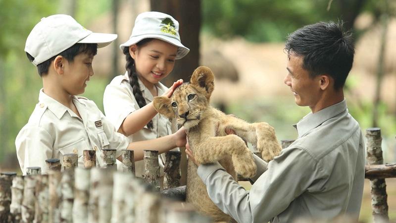 Vinpearl Safari Phú Quốc là điểm đến khám phá thiên nhiên hoang dã không thể bỏ lỡ. Ảnh: Vingroup cung cấp