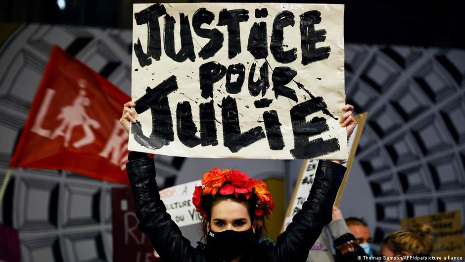 Nhiều cuộc biểu tình đòi công lý cho Julie diễn ra liên tục trong những ngày vừa qua - Ảnh: