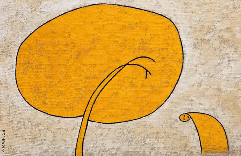 Triển lãm  Về bến lạ nằm trong chuỗi sự kiện tưởng nhớ 30 năm ngày mất  (1990 - 2020) và 100 năm ngày sinh (1924 - 2024) của nhà thơ, họa sĩ Đặng Đình Hưng...