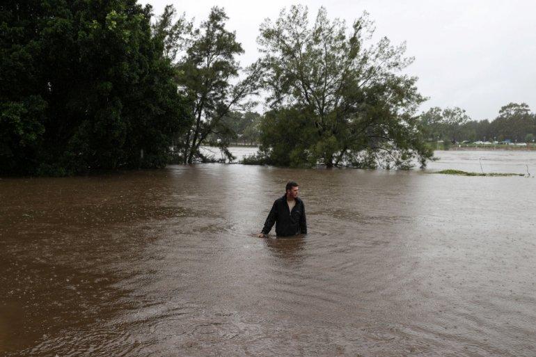 Úc đối mặt đợt lũ lụt tồi tệ nhất trong 50 năm qua.