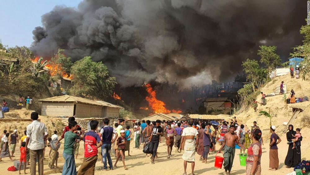 Ít nhất 5 người chết sau vụ hỏa hoạn ngày 22/3.