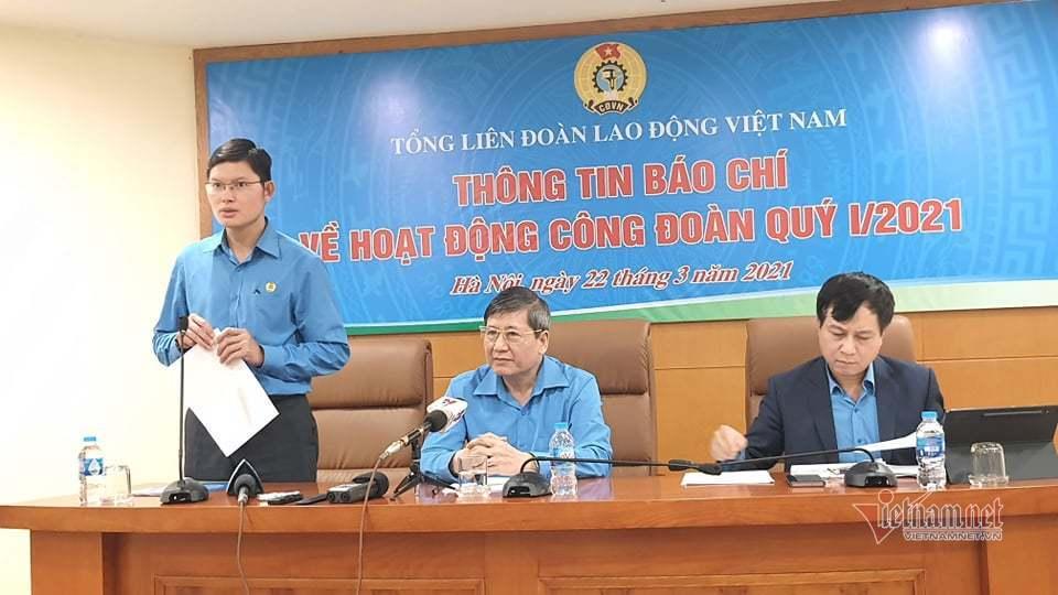 Lãnh đạo Tổng Liên đoàn Lao động Việt Nam thông tin vụ việc