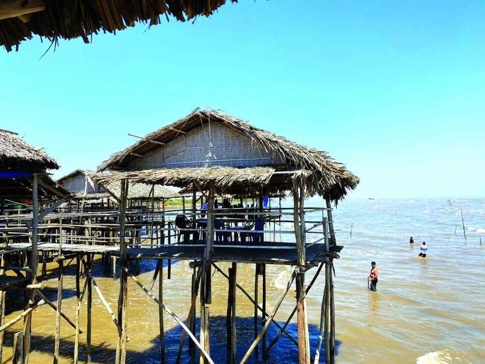 Một góc biển Tân Thành
