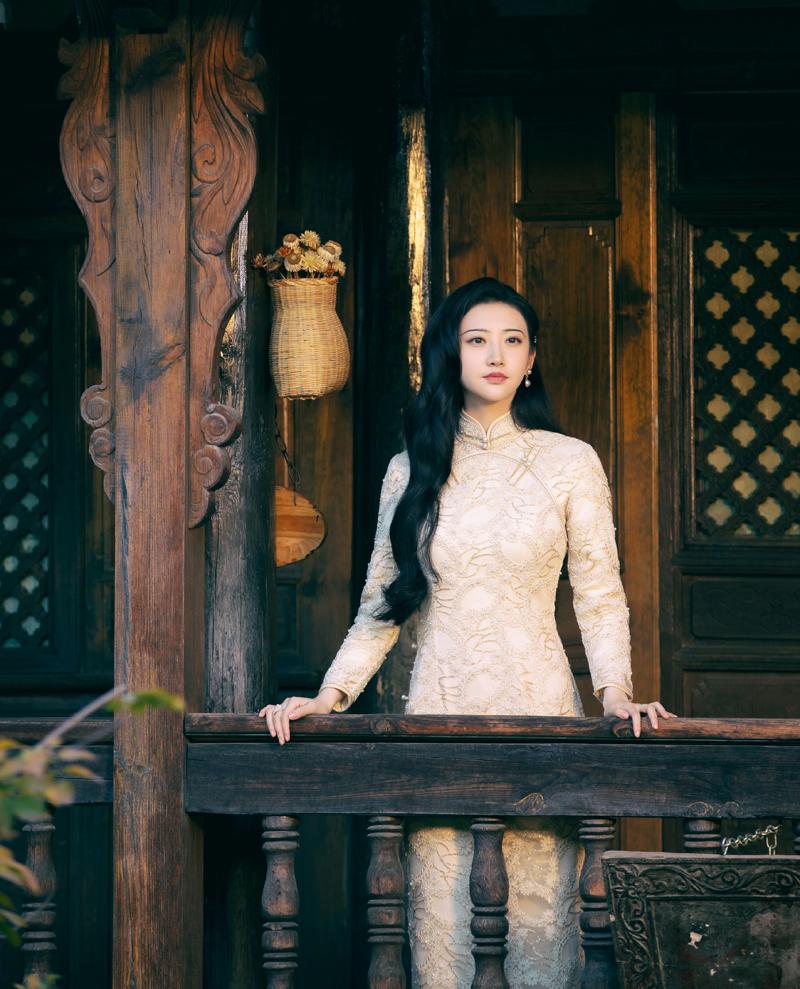 Tạo hình của Cảnh Điềm trong phim Tư Đằng