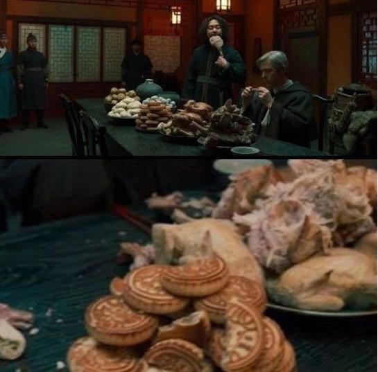 Những món ăn kiểu Trung Quốc xuất hiện trong Joseon Exorrcist gây phẫn nộ.