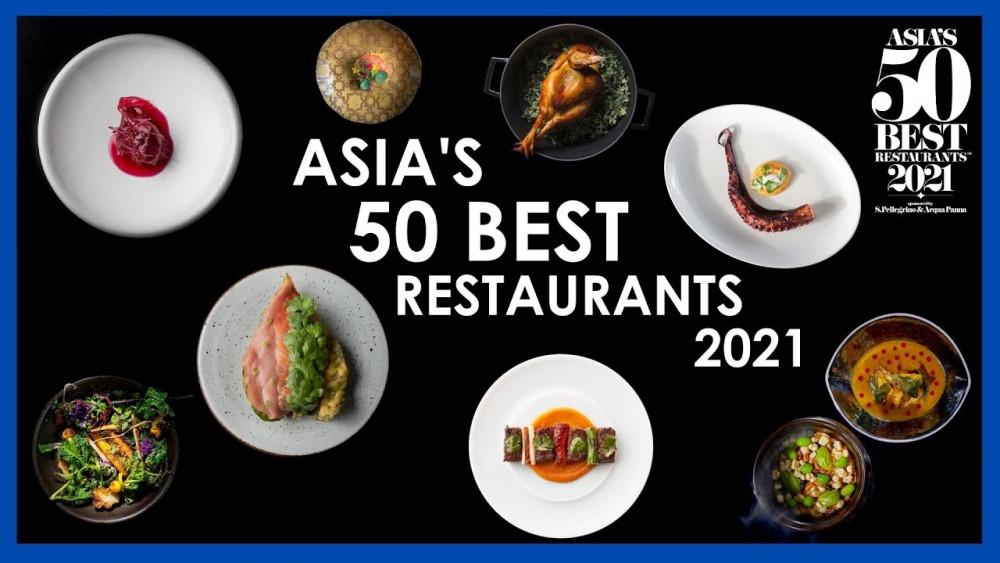 Giải thưởng 50 nhà hàng xuất sắc nhất châu Á năm 2021 vừ được tổ chức hôm 25/3 bằng hình thức trực tuyến do ảnh hưởng của COVID-19