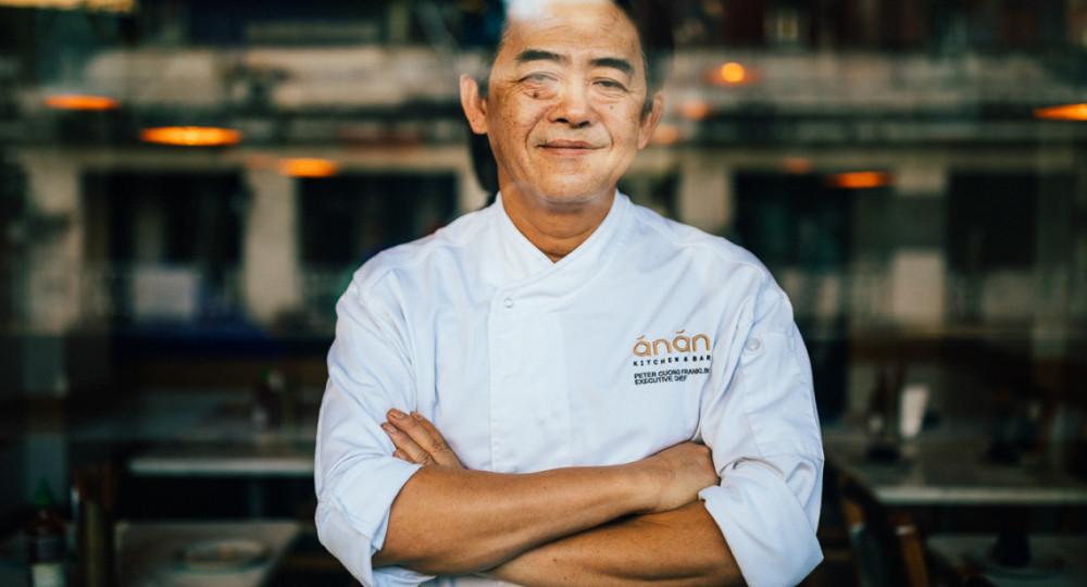 Ông Peter Cường Franklin - cha đẻ của nhà hàng Anan Saigon và là người thổi hồn cho những món ăn đường phố của Việt Nam lên ngôi cao trên trường quốc tế - Ảnh: Vietnam Travel