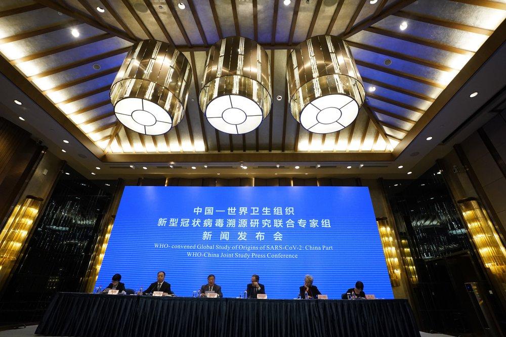 Vào ngày 9/2, WHO và Trung Quốc tổ chức cuộc họp báo nghiên cứu chung khi kết thúc sứ mệnh điều tra nguồn gốc đại dịch COVID-19 ở Vũ Hán, tỉnh Hồ Bắc, miền Trung Trung Quốc