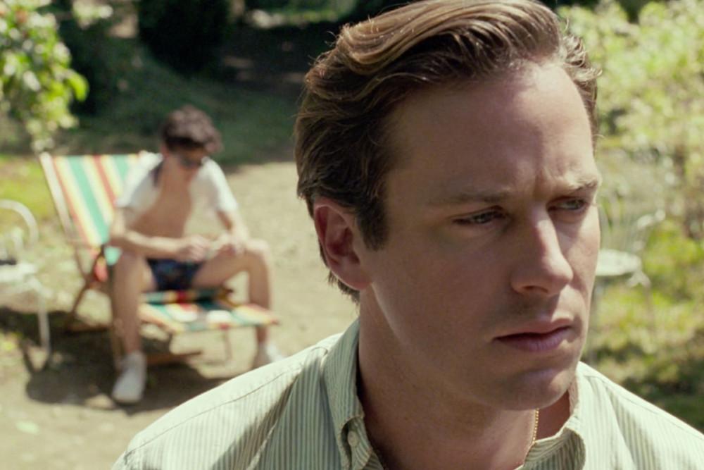 Hình ảnh Armie Hammer trên phim Call me by your name.