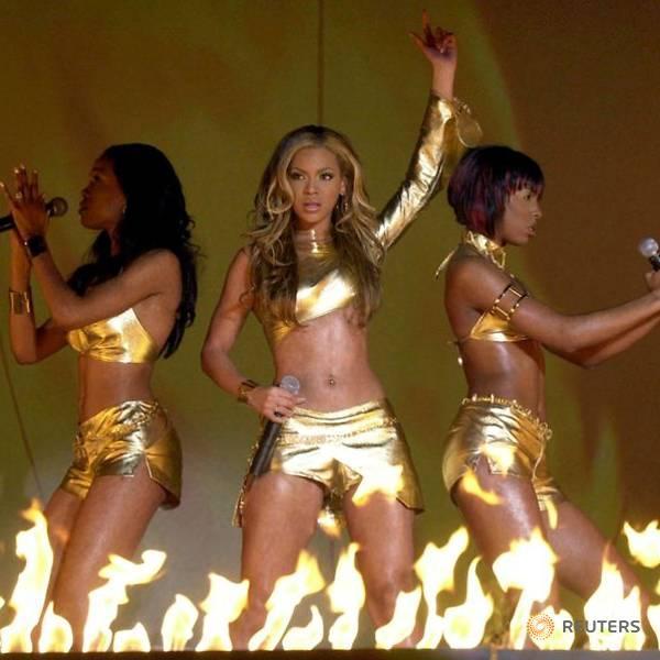 Destiny's Child biểu diễn tại Brits ở London.