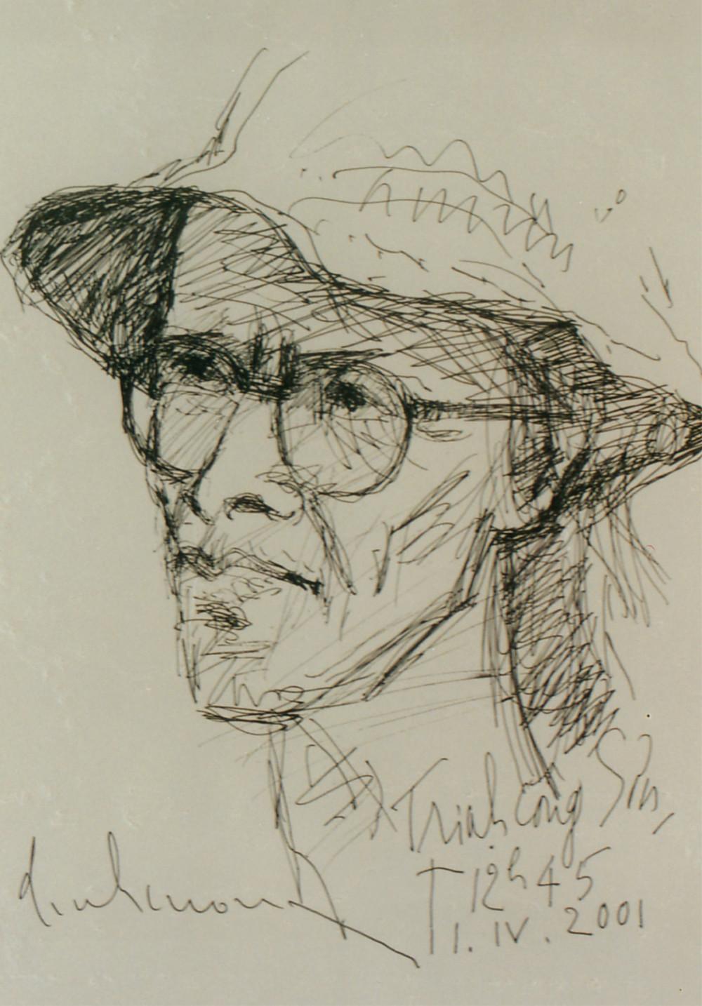 Một tác phẩm khác của họa sĩ Đinh Cường