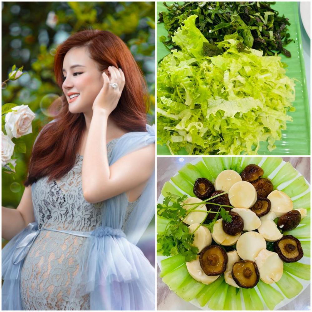 Ngoài các bài tập tăng cường sức khỏe, Vy Oanh còn cẩn thận sử dụng chế độ ăn uống khoa học. Cô hạn chế ăn đường, bổ sung nhiều loại vitamin và rau xanh, mỗi ngày uống một lít sữa và ăn nhiều trái cây.