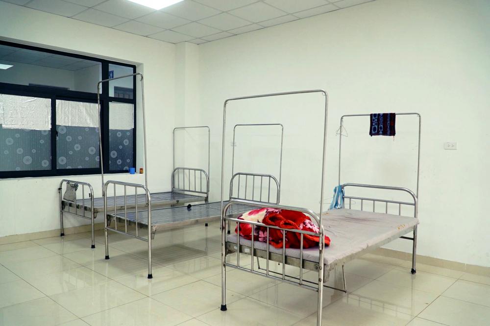 Bên trong căn phòng nơi Nguyễn Xuân Quý cải tạo thành chỗ để tổ chức sử dụng và mua bán ma túy