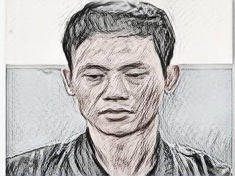 Nguyễn Xuân Quý tại cơ quan công an