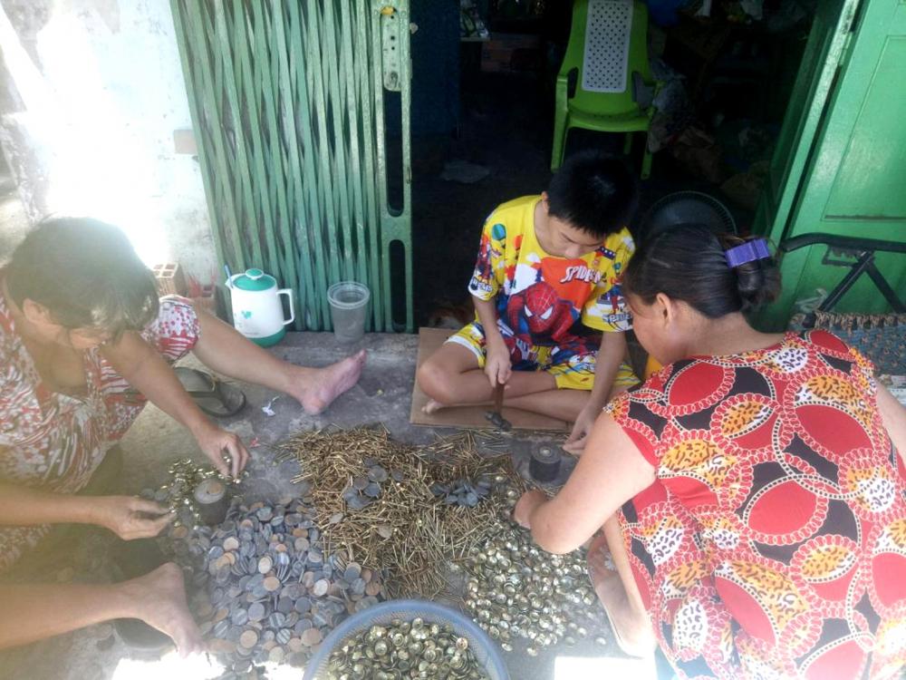 Sau hồi gia, Trung tâm Công tác xã hội Ánh Dương  tích cực hỗ trợ, giới thiệu việc làm để chị N.T.P.  có thu nhập ổn định cuộc sống