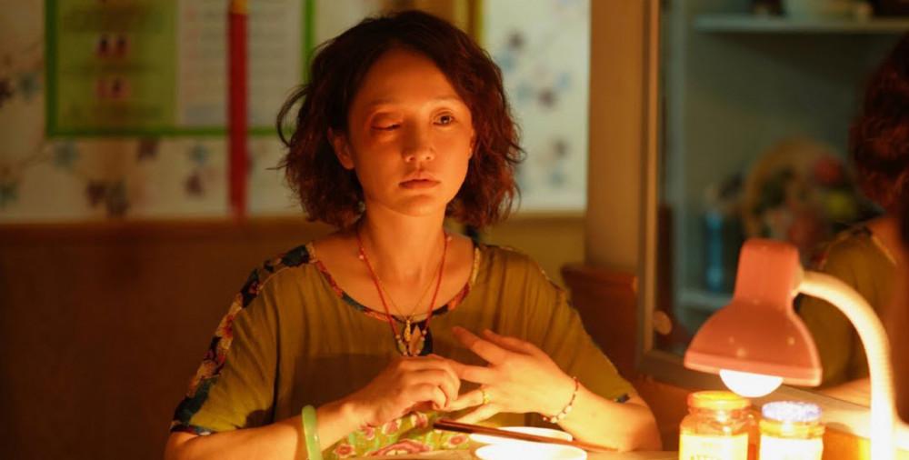 Tạo hình già nua của Châu Tấn trong phim Chương thứ 11