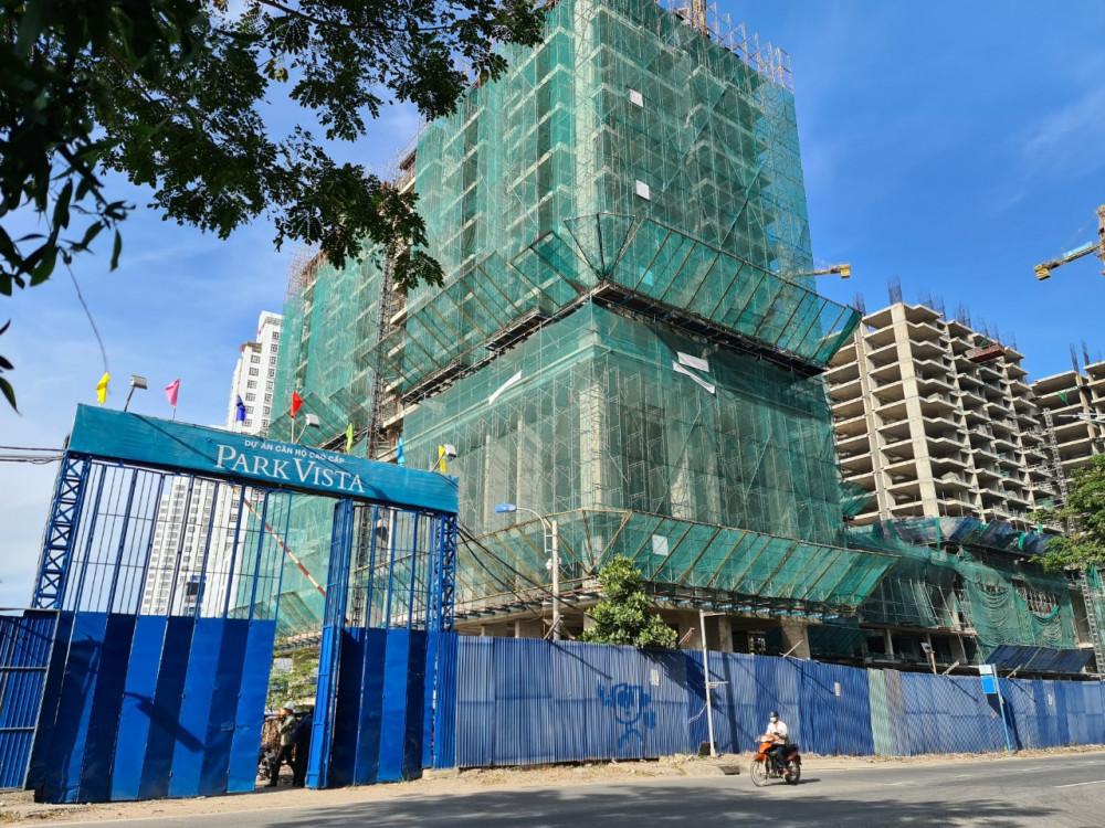 Công ty Đông Mê Kông cam kết khởi công dự án Park Vista từ ngày 7/4 - 15/4/2021