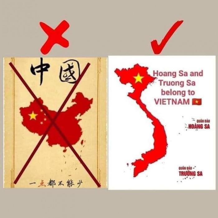 Nhiều hình ảnh được người dùng mạng đăng tải chỉ là các ảnh cũ trước đây cho thấy đường lưỡi bò phi pháp được Trung Quốc tuyên truyền.