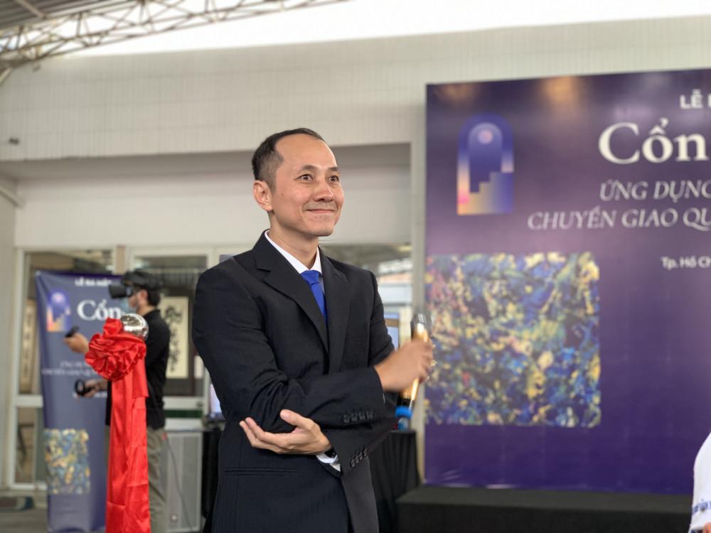 Anh Phạm Toàn Thắng, người sáng lập ứng dụng Cổng trời.