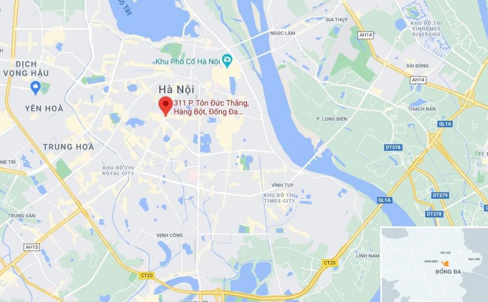 Nơi xảy ra hỏa hoạn - Ảnh chụp Google Maps