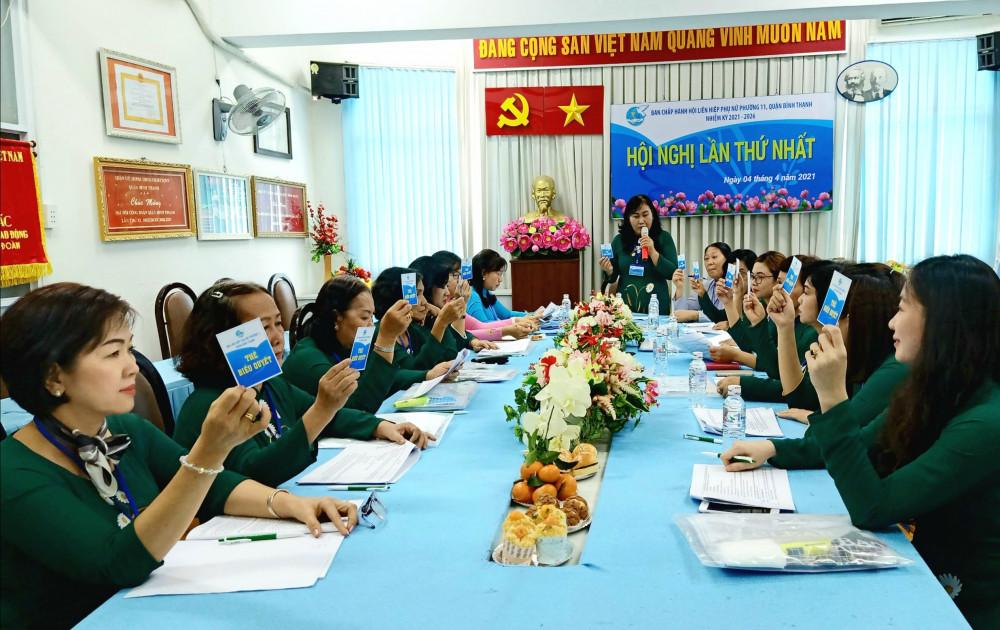 Phiên họp thứ nhất của BCH nhiệm kỳ mới
