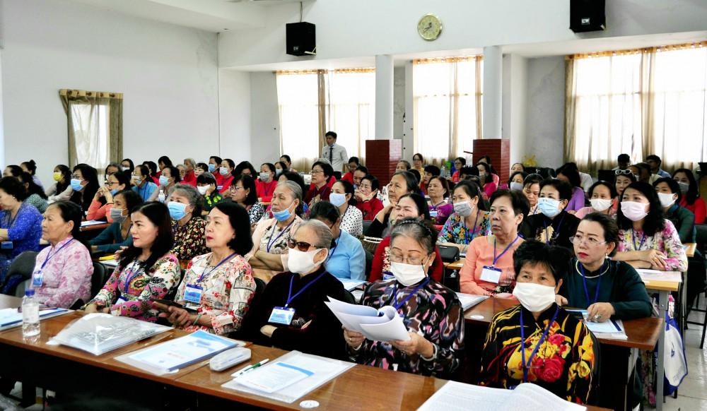 Đại hội thu hút sự tham gia của đông đảo cán bộ, hội viên nòng cốt