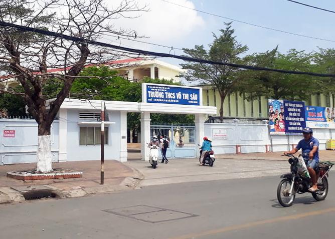 Trường THCS Võ Thị Sáu.